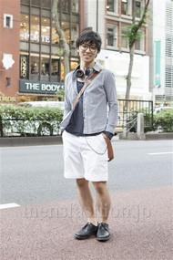 ファッションコーディネート原宿・表参道 2012年06月 甲斐紀行さん