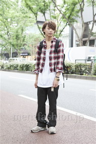 ファッションコーディネート原宿・表参道 2012年06月 藤田純太さん