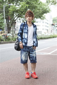 ファッションコーディネート原宿・表参道 2012年06月 川田晋吾さん