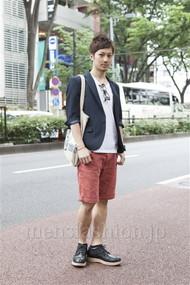 ファッションコーディネート原宿・表参道 2012年06月 浅香啓輔さん