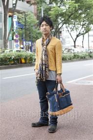 ファッションコーディネート原宿・表参道 2012年06月 向後春輝さん