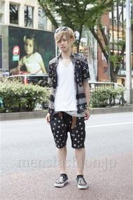ファッションコーディネート原宿・表参道 2012年06月 住本大明さん