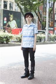 ファッションコーディネート原宿・表参道 2012年06月 根本晋太郎さん