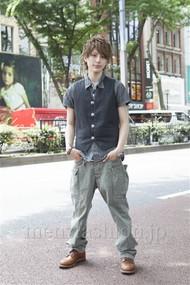ファッションコーディネート原宿・表参道 2012年06月 篠崎拓哉さん