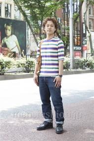 ファッションコーディネート原宿・表参道 2012年06月 川原一高さん