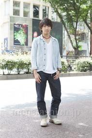ファッションコーディネート原宿・表参道 2012年06月 服部大起さん