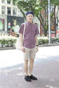 ファッションコーディネート原宿・表参道 2012年06月 ワタベショウマさん