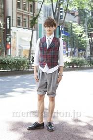 ファッションコーディネート原宿・表参道 2012年06月 上野晃宏さん