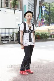 ファッションコーディネート原宿・表参道 2012年06月 大澤一嘉さん