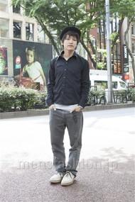 ファッションコーディネート原宿・表参道 2012年06月 川島達郎さん