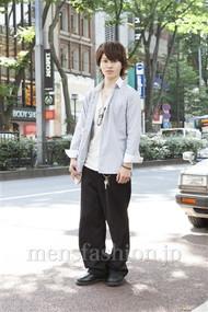 ファッションコーディネート原宿・表参道 2012年06月 長沼祥平さん