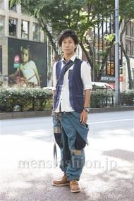 ファッションコーディネート原宿・表参道 2012年06月 シュンスケさん