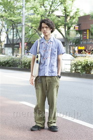 ファッションコーディネート原宿・表参道 2012年06月 青山清志さん