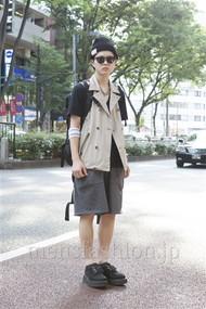 ファッションコーディネート原宿・表参道 2012年06月 長澤隆太郎さん