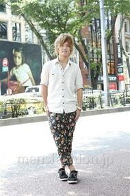 ファッションコーディネート原宿・表参道 2012年07月 隈元海人さん