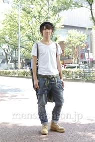 ファッションコーディネート原宿・表参道 2012年07月 服部大起さん