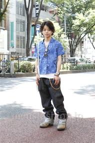 ファッションコーディネート原宿・表参道 2012年07月 佐藤貴龍さん