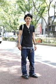ファッションコーディネート原宿・表参道 2012年07月 黒山慶司さん