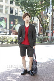 ファッションコーディネート原宿・表参道 2012年07月 成澤貴人さん