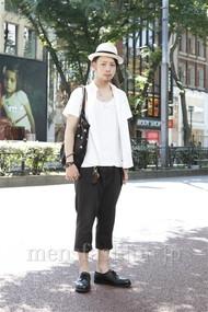 ファッションコーディネート原宿・表参道 2012年07月 小林綾太さん