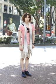 ファッションコーディネート原宿・表参道 2012年07月 小西 涼さん