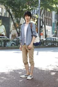 ファッションコーディネート原宿・表参道 2012年07月 矢島 聖さん