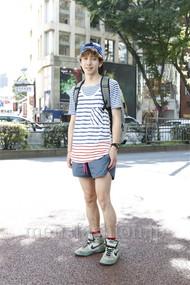 ファッションコーディネート原宿・表参道 2012年07月 晴さん
