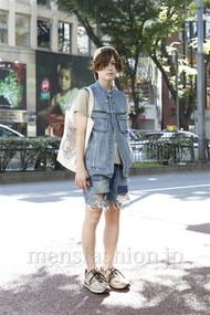 ファッションコーディネート原宿・表参道 2012年07月 長澤隆太郎さん