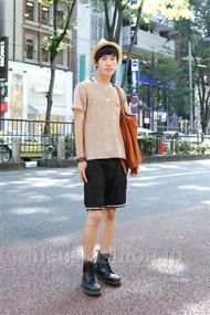 ファッションコーディネート原宿・表参道 2012年07月 笹崎高志さん