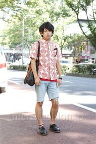 ファッションコーディネート原宿・表参道 2012年07月 北 魁道さん
