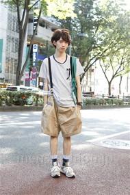 ファッションコーディネート原宿・表参道 2012年07月 浦辻大奨さん