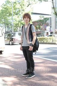ファッションコーディネート原宿・表参道 2012年07月 新田快広さん