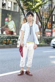 ファッションコーディネート原宿・表参道 2012年07月 箭内広司さん