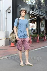ファッションコーディネート原宿・表参道 2012年07月 中嶋時男さん