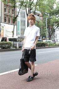 ファッションコーディネート原宿・表参道 2012年07月 五味純一さん