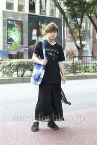 ファッションコーディネート原宿・表参道 2012年07月 石井俊伍さん