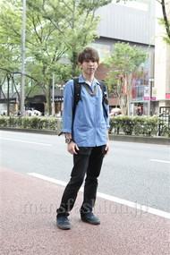 ファッションコーディネート原宿・表参道 2012年07月 大澤一嘉さん
