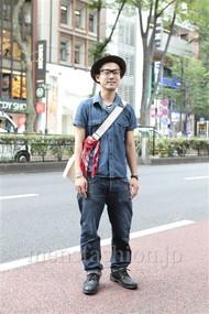 ファッションコーディネート原宿・表参道 2012年07月 川原一高さん