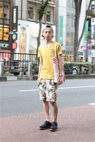 ファッションコーディネート原宿・表参道 2012年07月 雨宮雄三さん