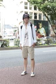 ファッションコーディネート原宿・表参道 2012年07月 藤岡秀太さん