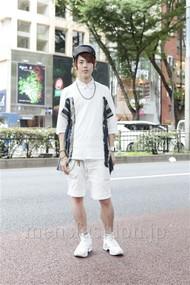 ファッションコーディネート原宿・表参道 2012年07月 伏貫 諒さん