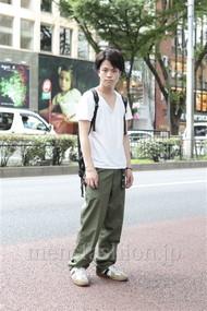 ファッションコーディネート原宿・表参道 2012年07月 増渕雄一さん
