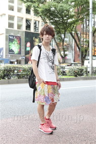 ファッションコーディネート原宿・表参道 2012年07月 夏川登志郎さん