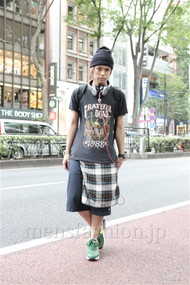 ファッションコーディネート原宿・表参道 2012年07月 高木進之介さん
