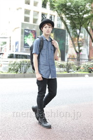 ファッションコーディネート原宿・表参道 2012年07月 根本晋太郎さん