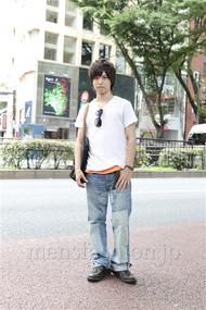 ファッションコーディネート原宿・表参道 2012年07月 高木眞之介さん