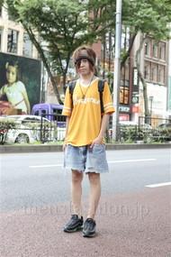 ファッションコーディネート原宿・表参道 2012年07月 桑原 才さん