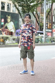 ファッションコーディネート原宿・表参道 2012年07月 徳永柾明さん
