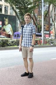 ファッションコーディネート原宿・表参道 2012年07月 ワタベショウマさん