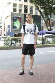 ファッションコーディネート原宿・表参道 2012年07月 YUDAさん
